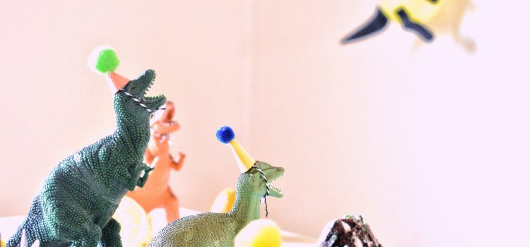 anniversaire décoration dinosaure